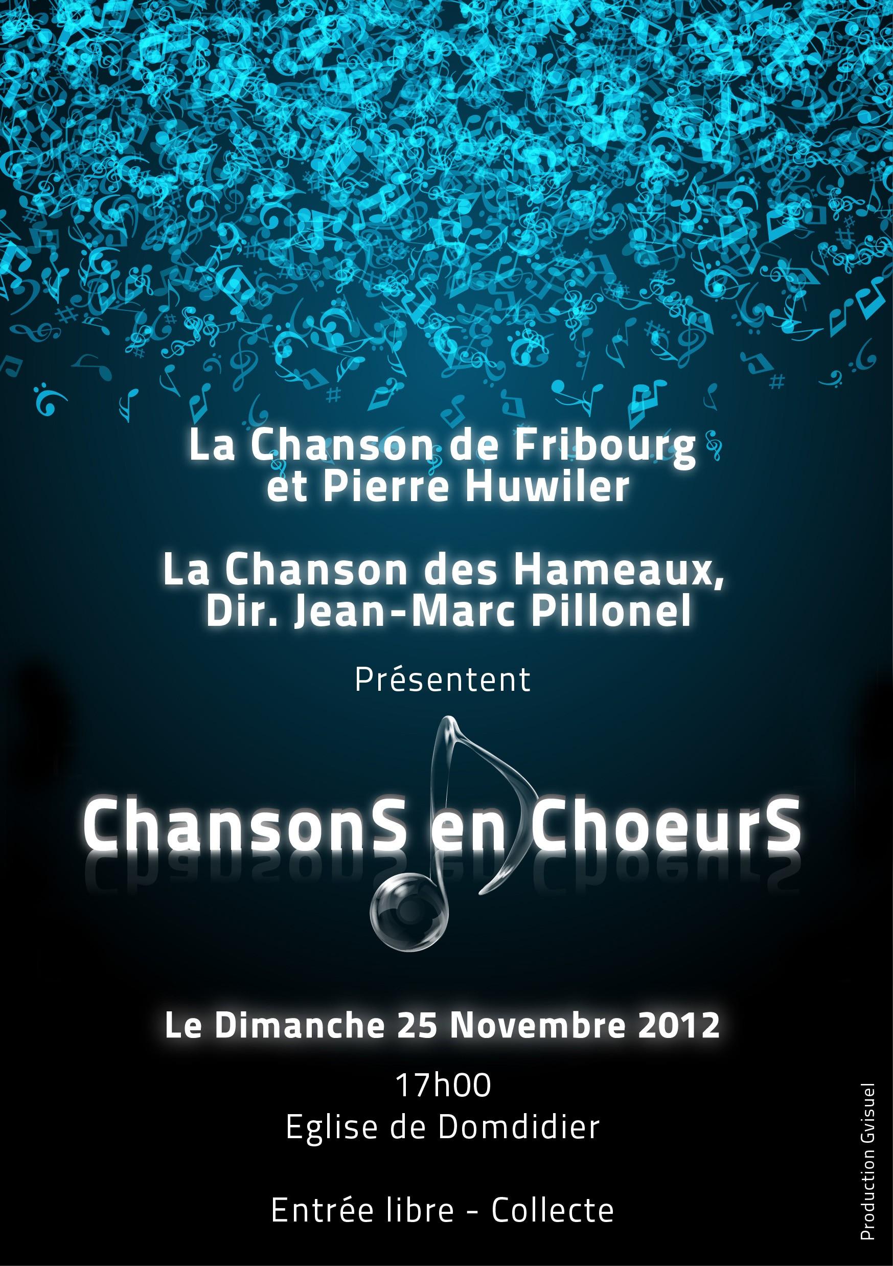 En Concert Le 25 Novembre à Domdidier
